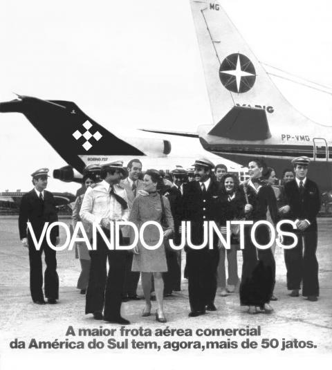 A fusão Varig-Cruzeiro veiculada na mídia nacional