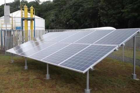 Painel de energia fotovoltaica