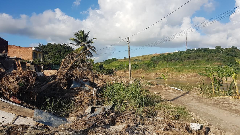 Enchente em Pernambuco