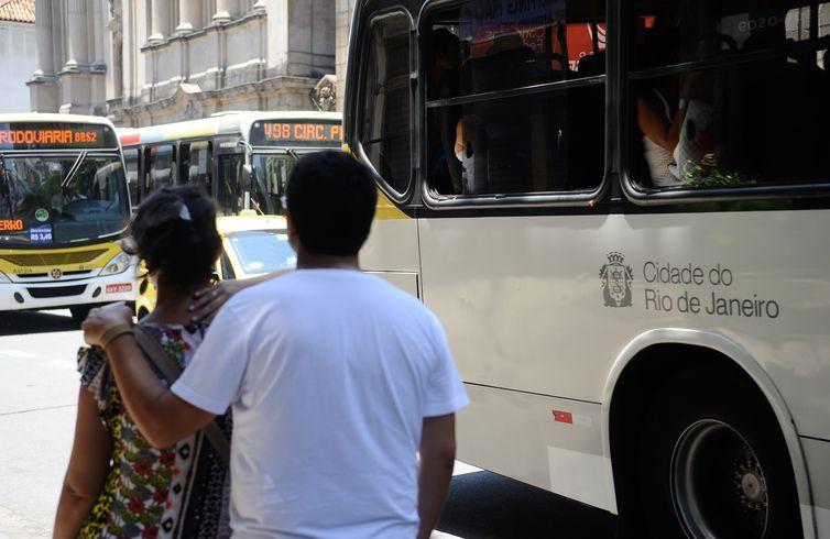 Passageiros no Rio de Janeiro
