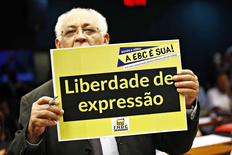 Deputados apoiam EBC durante audiência na Câmara