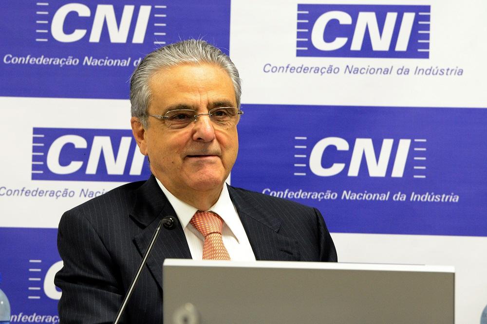 O Presidente da CNI, Robson Braga de Andrade