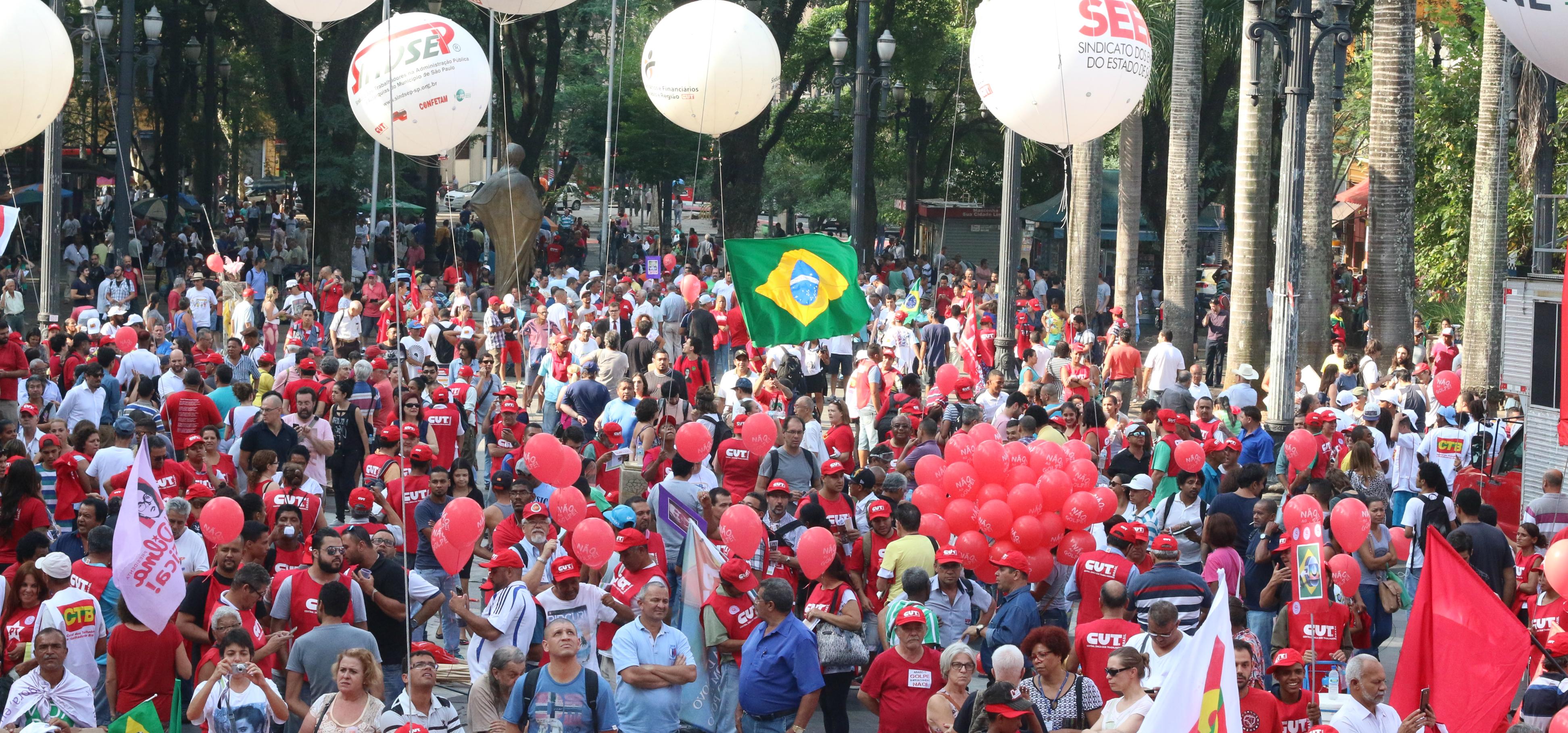 Manifestação, São Paulo, dia 31/3