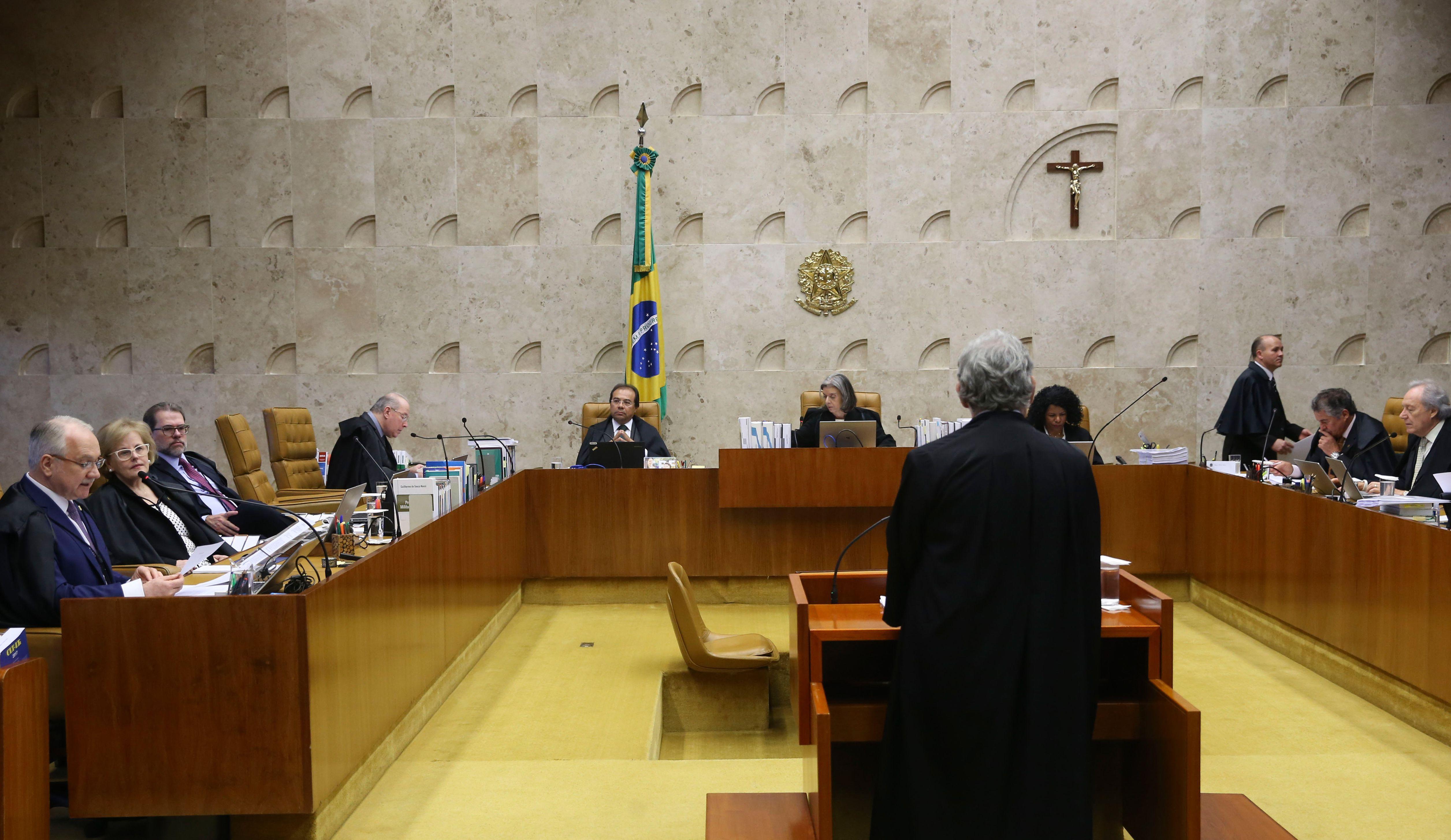Sessão do STF para decidir sobre suspeição do procurador-geral da República, Rodrigo Janot, nas investigações relacionadas ao presidente Michel Temer