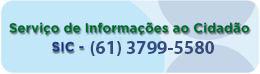 Serviço de Informações ao Cidadão - 0800.644.4244